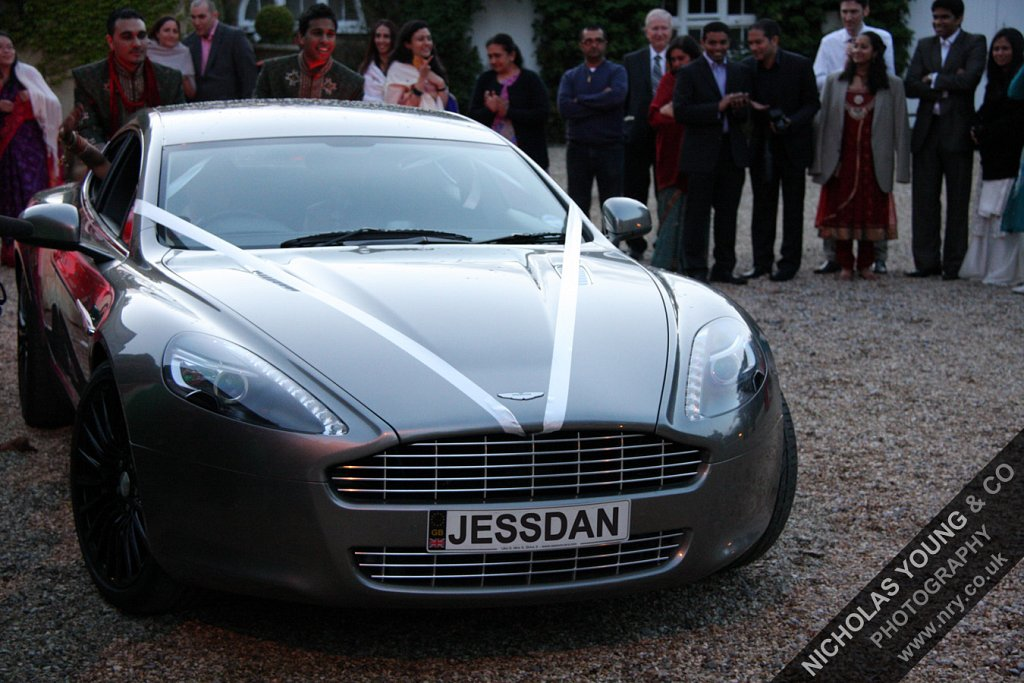 The Wedding Car (Aston Martin Rapide)