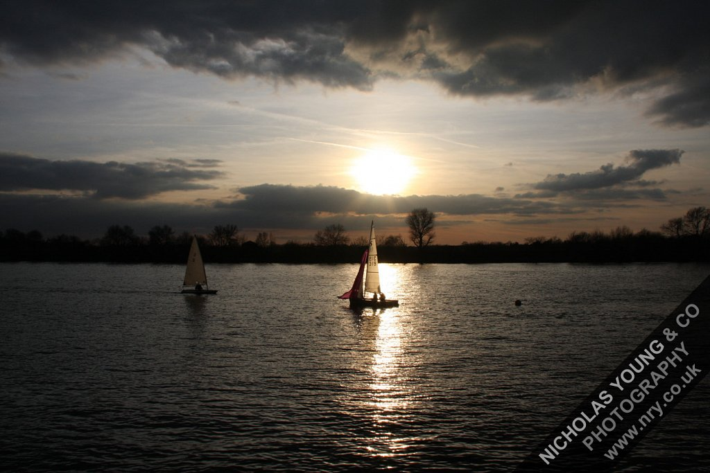 Sailing on the River Thames