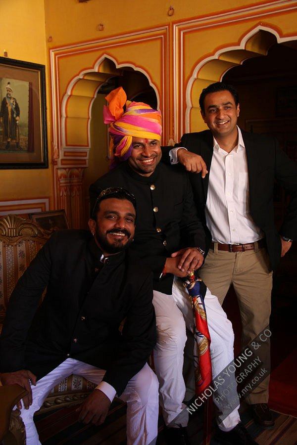 Rumaan Kidwai, Vijit Singh & Abhay Singh